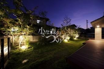 お庭のライティング